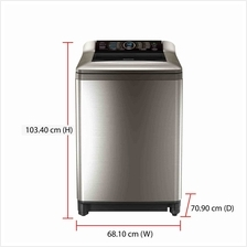 Panasonic Washing Machine NA-F135X4 (13.5kg) Active Foam System