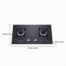 Morgan Built-in Hob MBH-GC522C (8000W) 8mm Tempered Glass