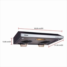 Morgan Cooker Hood MCH-NC290 (For Kitchen Size 265 - 530 sq ft) Slim H