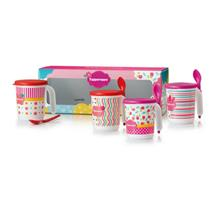 Tupperware Blushing Pink Mug Set