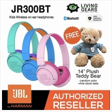 JBL JR300BT Kids Junior Wireless Bluetooth Portable On-Ear Headphones