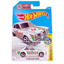 Hot Wheels 2016 HW Speed Graphics: '70 FORD ESCORT RS1600 [White]