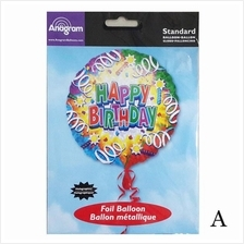 18 Original Anagram Happy Birthday Foil Balloon