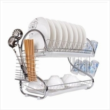 S Shape Dish Drainer (2 Layer)