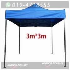 3x3m Outdoor Pop Up Canopy Tent Folding Marquee Party Wedding Camping