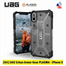 [Ori] UAG Urban Armor Gear iPhone X PLASMA Rugged Military Grade (Ash)