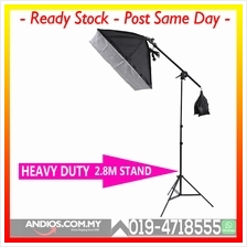 Dome Cross Arm + 50*70 Single Lamp Softbox Lightbox