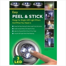 NEW : Stick N Click , Quick & Easy Light Set-of- 3 Portable LED lights