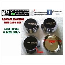 ADVAN RACING SPORT RIM CAPS SET (4PCS)