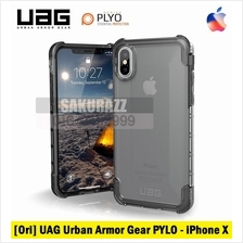 [Ori] UAG Urban Armor Gear iPhone X PYLO Rugged Military Case (Ice)