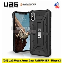 [Ori] UAG Urban Armor Gear iPhone X PATHFINDER Rugged Military (Black)