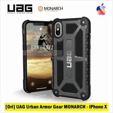 [Ori] UAG iPhone X MONARCH Rugged Double Military Case (Graphite)