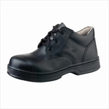 Safety Shoes K2 Low Cut Lace Up TE 601X BK Black FOC Delivery No GST