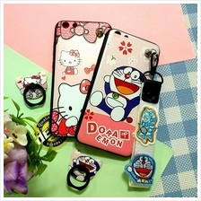 Trendy Cartoon Case Vivo Y69 V7 Plus FREE STRAP FREE IRING