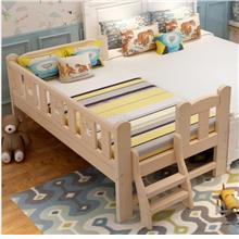 Kids solid wood bed with free mattres)