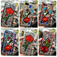 NEW Diamond Flower Case iPhone 6 6S 7 8 Plus FREE iRing