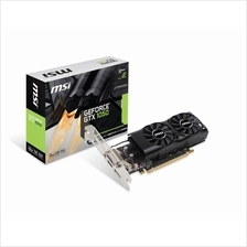# MSI GEFORCE® GTX 1050 2GT LP # Low Profile Design | 1455 MHz | 2GD5
