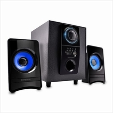 Clearance Sales::Sensonic 2.1ch Speaker with USB & SD F35+  CARD