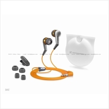 Sennheiser CX 380 Sport II Grey Orange . Earphones .  Free S&H