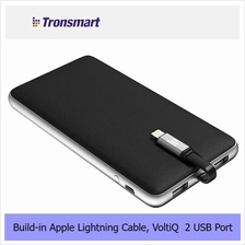 Trosmart Prime PB10L 10000mAh Build-in MFi Certified cable