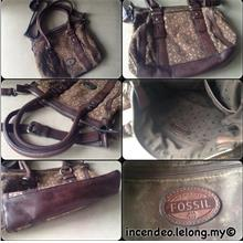 **incendeo** - Authentic F0SSIL Classic Leather Handbag for Ladies