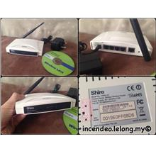 **incendeo** - SHIRO Wireless Router WR54-01