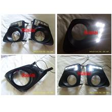 Toyota Altis 11-13 Fog Lamp Cover with LED DRL per pair