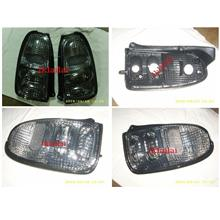 Perodua Kelisa Crystal Smoke Tail Lamp [price per pair]