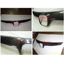 Honda Civic FD '09 OEM / Type R Front Grille Real Carbon Fiber Cover