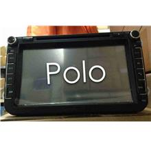 Volkswagen Polo 7' Full HD Double Din DVD Player with GPS System