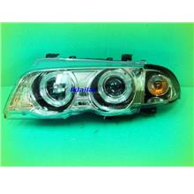 SONAR BMW E46 '99-'01 Projector Head Lamp with Rim Black/Chrome Housin