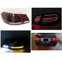 Mercedes Benz E-class W212 '10 LED Light Bar Tail Lamp [Red-Smoke]