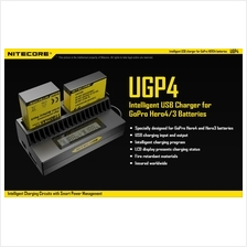 Nitecore UGP4 Intelligent USB Charger for GoPro Hero4/Hero3 Battery