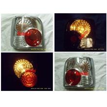 Perodua Kancil '94-02 Tail Lamp Crystal Clear/Red