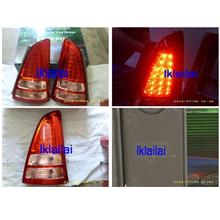 DEPO Toyota Innova `04 TGN40 Tail Lamp Crystal LED Red/Clear [TY26-RL0