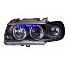 VOLKSWAGEN POLO 6N LED Rim Projector Head Lamp [With / Black]