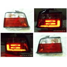 BMW E36 '91-97 4D LED Light Bar Tail Lamp [Red/Clear]