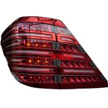 Toyota Alphard `08 Tail Lamp Crystal LED + Light Bar Red Cover Plate