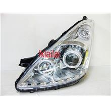 Toyota WISH '03 CCFL Ring Projector Head Lamp 2-Function DRL R8