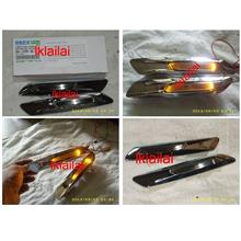 BMW 5 Series F10 '10 Side Lamp Crystal LED Smoke W/Chrome Housing