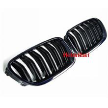 BMW 5 Series F10 '10 Front Grille Gloss Black