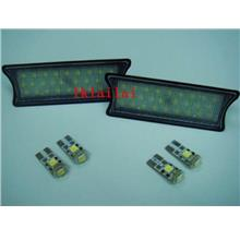 BMW E87 `04 Full LED Roof/Room Lamp White [6pcs/set] [BMW-NP07-U]