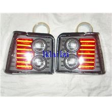Proton Iswara 2004 Original Tail Lamp [Black-Red] 1-piece
