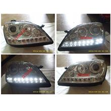 DEPO Mercedes Benz W164 ML350 Projector Head Lamp LED DRL R8