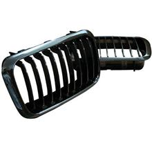 BMW 3 Series E36 '97 4D Front Grille Black Chrome [BM01-FG07-U]