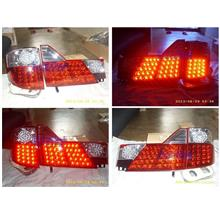 Toyota  Alphard  ANH-10 `02 Crystal LED Tail Lamp Clear/Red