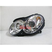 SONAR Mercedes Benz W209 Projector Head Lamp LED DRLR8