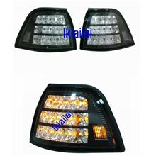 BMW E36 4D Black Housing LED Corner Lamp