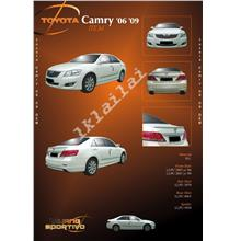 Toyota Camry '06-'09 OEM Style PU Material Full Set Body Kit