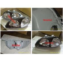 DEPO Honda Civic EK '96 Crystal Head Lamp Black